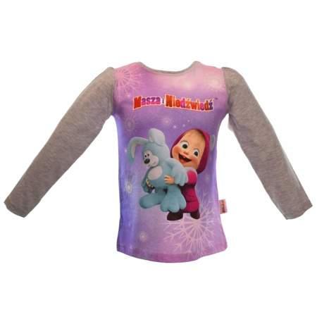 Bluzka dla dzieci z bajki Masza i Niedźwiedź