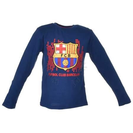Bluzka dla dzieci z długim rękawem FCBarcelona