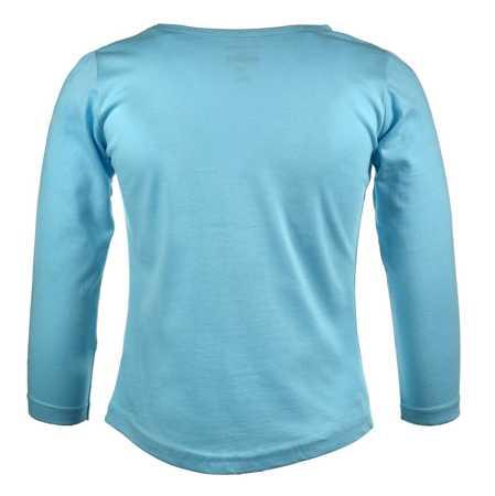 Bluzka dla dzieci z długim rękawem Kraina Lodu Blue