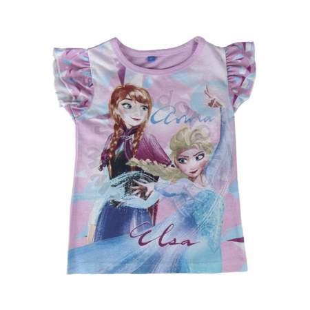 Bluzka dziecięca z krótkim rękawem Frozen