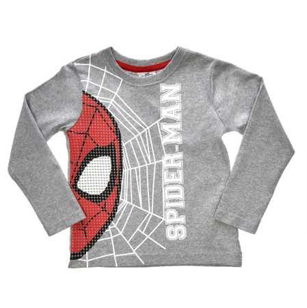Bluzka licencyjna z długim rękawem chłopca Spider-Man