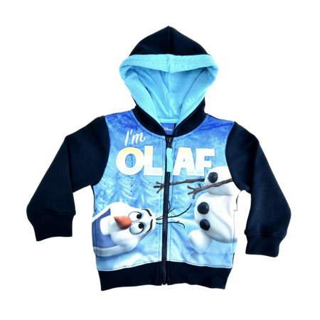 Ciepła bluza dla dzieci z bałwanem Olafem z bajki Frozen- Kraina Lodu