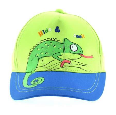 Czapka z daszkiem dla dzieci Kameleon