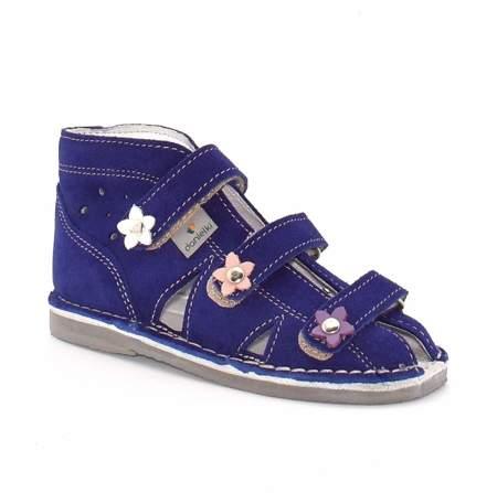 Dziecięce buty profilaktyczne Danielki S124/S134 Fiolet