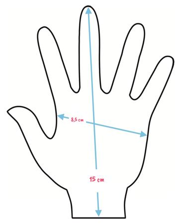 Rękawiczki dziecięce z postaciami z bajki Avangers