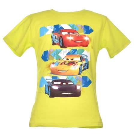 T-shirt dla dzieci z wizerunkiem bohaterów bajki Cars Auta